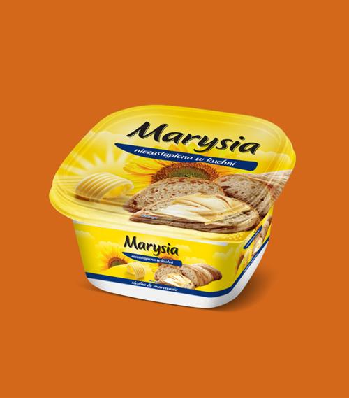 Opakowanie margaryny Marysia.