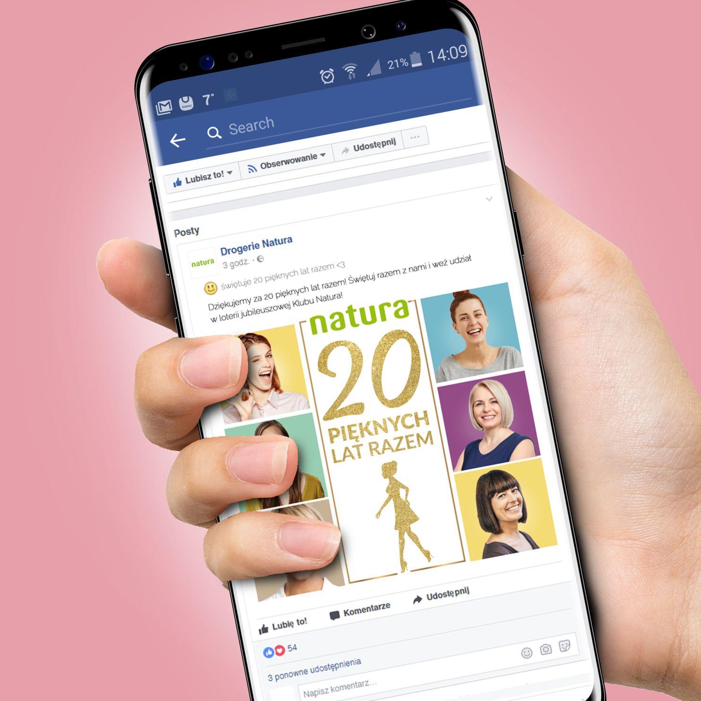 posty na portalu Facebook